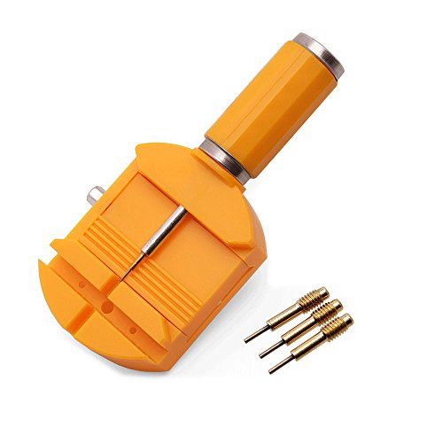 Watch Band Link Remover Tool Kit with 3 Extra Pins Watch Spring Bar Link Pin Remover Gadget