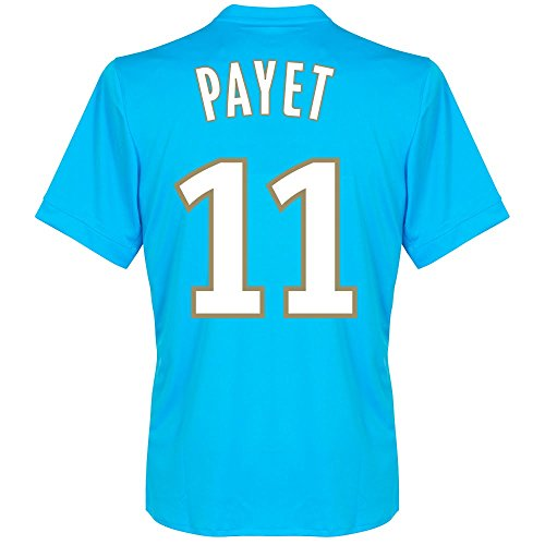 fan products of Olympique Marseille Away Payet Jersey 2017 / 2018 (Fan Style Printing) - XXL
