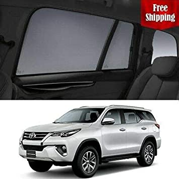 Magnetic Car Window Shades for Toyota Fortuner 2015-2019