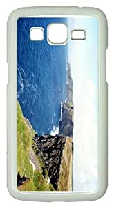 girly coversshore cliff PC White case/cover for Samsung Galaxy Grand 2/7106