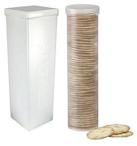 Amazon Com Set Of 2 Saltine Cracker Sleeve Storage