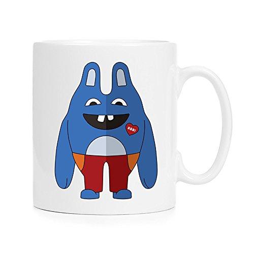 I Love You Abbi - Tooth Fairy - Full Color 12 oz. Ceramic Mug sublimation printing perfect for coffee, tea & hot chocolate