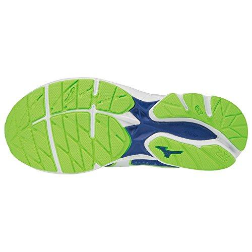 Wave Greeng Surftheweb Mizuno White Jnr Unisex 001 Erwachsene Shoe Rider Sneakers Mehrfarbig Uq7v6Oqxwt