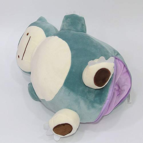 Amazon.com: Ditto Metamon Snorlax - Cojín interior para ...