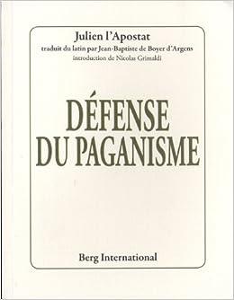 Défense du paganisme