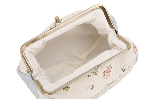 Tela Fiori Design Make Up Bag