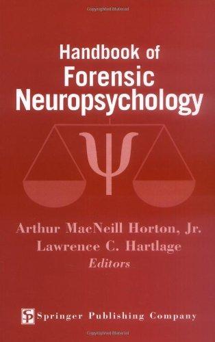 Download Handbook of Forensic Neuropsychology Pdf