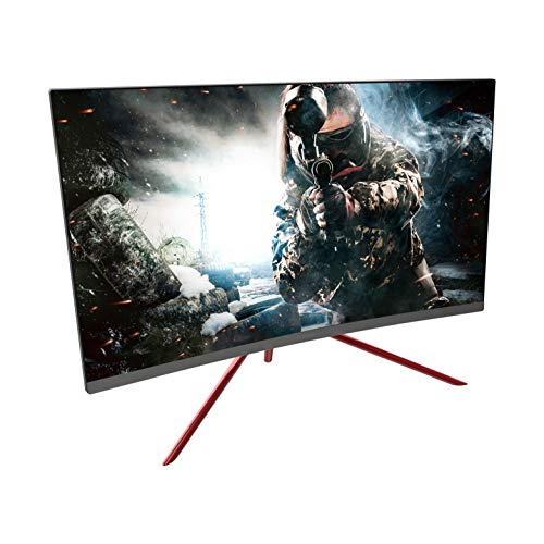 VIOTEK GN27C2 27-inch 144Hz Curved Gaming Monitor - 1080p Samsung VA Panels, GamePlus FreeSync FPS/RTS - HDMI DP 1.2 - Xbox One/PS4 Ready