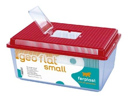 Geo Plastic Tank Flat Small Mixed Colours 35.5x23.5x16.5cm