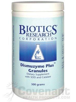 Dismuzyme Plus Granules 500 G - Biotics [Health and Beauty] by Biotics Research (Dismuzyme Plus Granules)