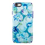 Speck Products CandyShell Inked  Case for iPhone 6/6S - Aqua Floral Blue/UltraViolet Purple