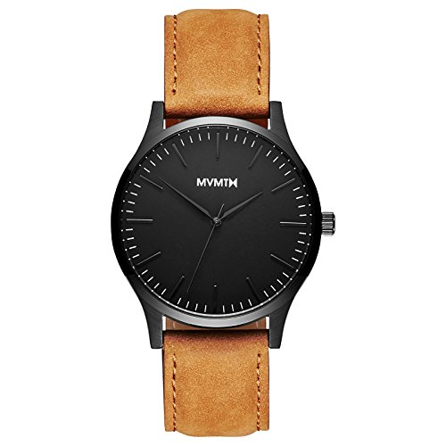 MVMT 40 Series Watches | 40 MM Men's Analog Watch | Leather Wristband