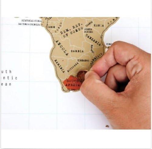 Cartina Geografica Per Segnare Luoghi Visitati.Mappa Del Mondo Da Grattare Per Segnare I Posti Visitati Dimensioni 90 X 53 Cm Amazon It Cancelleria E Prodotti Per Ufficio
