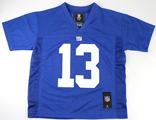 Odell Beckham Jr. New York Giants #13 NFL Kids 4-7 Mid-Tier Team Color Jersey Blue (Kids Large 7)