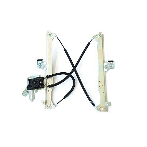 SHOWSEN Rear Driver (Left) Side Power Window Regulator w/Motor Fit 02-06 Cadillac Escalade EXT/ESV 00-06 GMC Yukon XL 00-06 Chevy Suburban 02-06 Avalanche 99-07 Silverado/Sierra 07 Classic (Cadillac Escalade Esv Power Window)