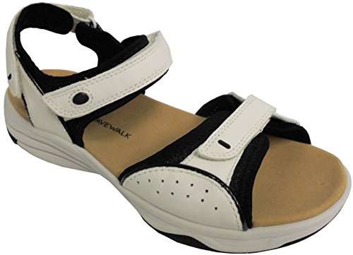 Clarks - Sandalo Donna Womens Grip Sandalo Bianco 2