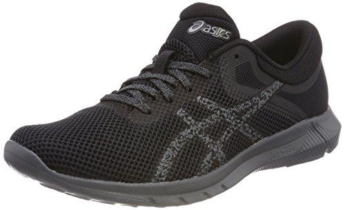 Asics Nitrofuze 2, Chaussures de Running Femme Gris (Carbonblackcarbon 9790)