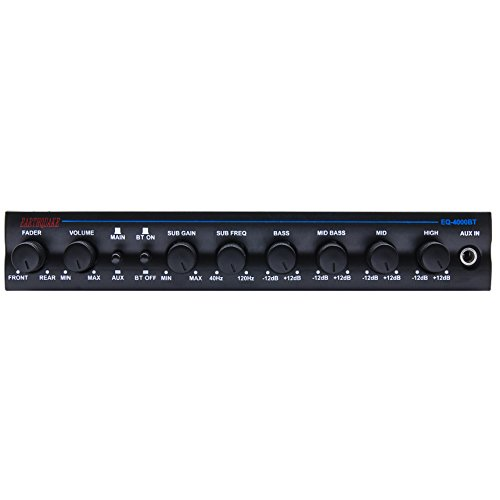 Earthquake Sound EQ4000BT 4-Band Equalizer with Bluetooth Capability by Earthquake Sound (Image #1)