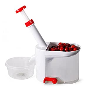MyLifeUNIT Cherry Pitter Tool, Stainless Steel Cherry Pitter Machine