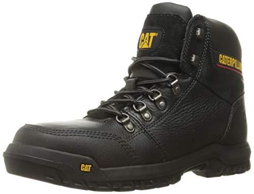 Caterpillar Men's Outline Steel Toe Construction Boot, Black, 14 M ()