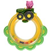 The First Years John Deere Tractor Ring Rattle