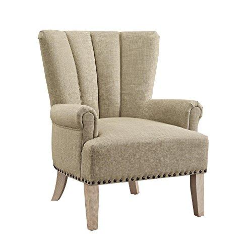 Dorel Living DL7201-BG Accent Chair, Beige by Dorel Living