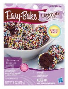 Easy Bake Oven Chocolate Truffle Mixes 6 Oz