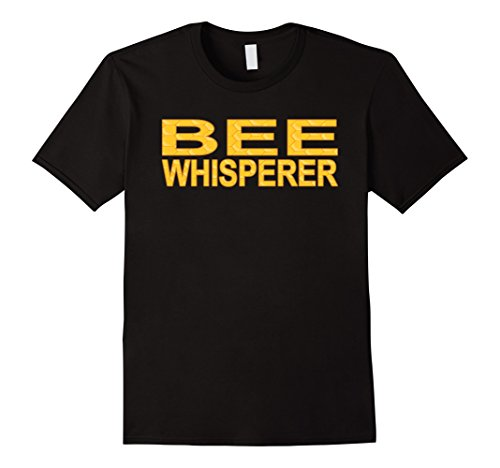 Bee Keeper Costume (Mens Beekeeper T-Shirt - Bee Whisperer Shirt Beekeeping Shirt Medium Black)