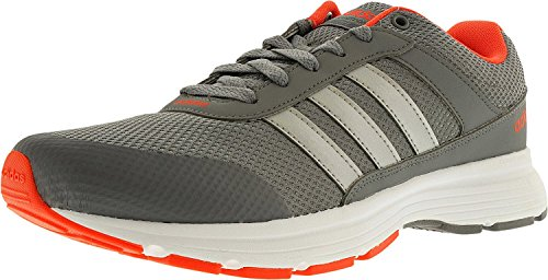 adidas Neo Men's Cloudfoam Vs City Shoes (13 D(M) US, Grey/Silver Metallic/White) (Athletic Metallic Tie)