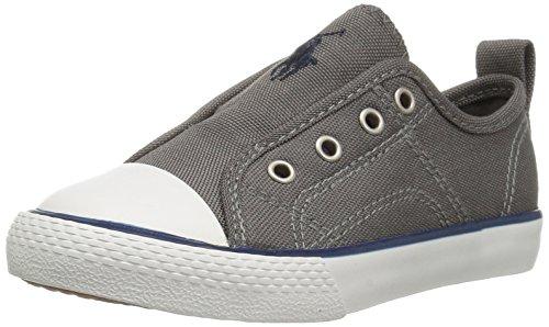 - Polo Ralph Lauren Kids Boys' Ryland Sneaker Charcoal Chambray 5 Medium US Toddler