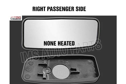 Mercedes Sprinter Wing Mirror Lower Small Glass None Heated With Backing Plate Blind Spot//Slide Right Passenger 2007 TO 2016