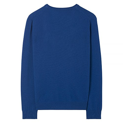 GANT Super Fine Lambswool V-Neck Mens Jumper Yale Blue XXL by GANT (Image #1)