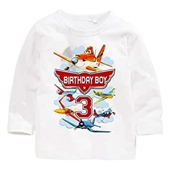 Disney Planes Birthday Boy 3 Long-Sleeved T-Shirt