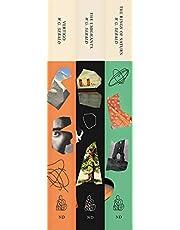 Three Book Sebald Set – The Emigrants, The Rings of Saturn, and Vertigo