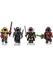 Roblox ROB0306 Dominus Dudes, Speelset met 4 figuren, accessoires en exclusieve online code, vanaf 6 jaar