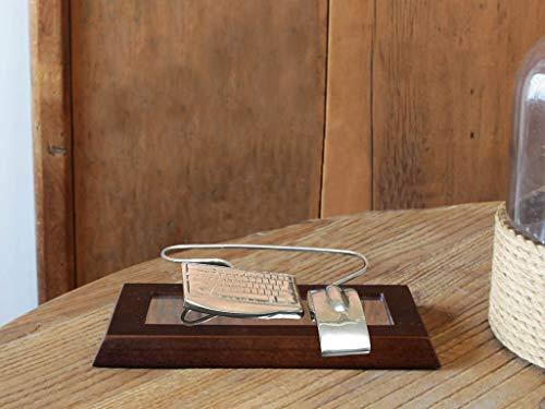 Escultura De Mesa Engenharia Da Computação Decoração Escritório Sarquis Samara Imbuia