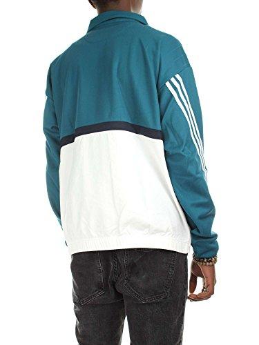 Adidas Drill Herren Flip Flops, Pullover, blau, (azcere/weiß)