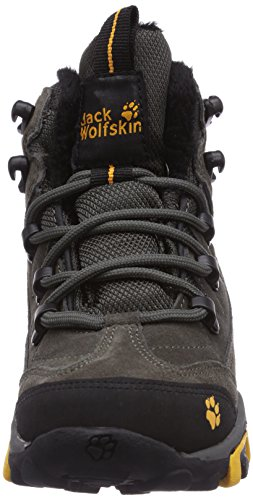 Jack Wolfskin SHERWOOD TEXAPORE Unisex-Kinder Trekking- & Wanderstiefel Schwarz (shadow black 6101)