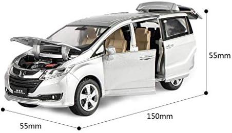 KaKaDz Wei KKD Escala Modelo Simulación Vehículo Decoración Modelo de Coche de Juguete Modelo de MPV Coche Honda Odyssey Modelo de Coche de Aleación de Coche Niño 1:32: Amazon.es: Hogar