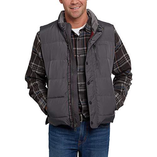 Men's Orvis Down Vest (L, Carbon)