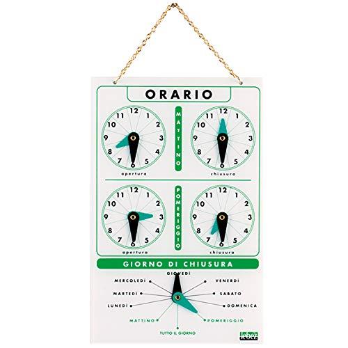 Lebez Cartel horario de acrílico Art. 4506: Amazon.es ...