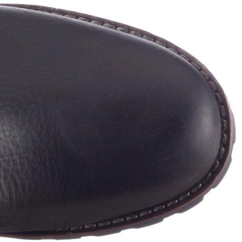 Timberland ATRUS MID BLACK SMOOTH 96387 - Botas de cuero para mujer Negro