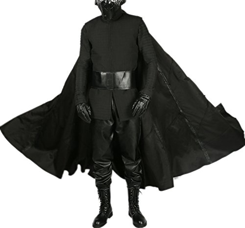Jedi Outfit (Kylo Ren Costume Last Jedi SW 8 Cosplay Outfit Adult Full Suit Custom Made)