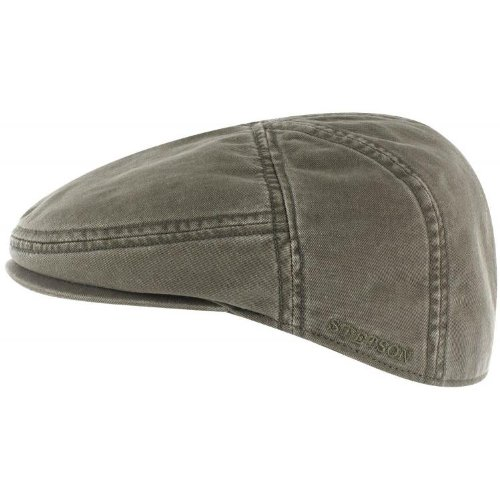 Stetson Art. Paradise Flatcap leichte modische Mütze 6911101 (M=56-57, khaki)