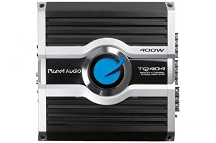 Planet Audio TQ404 50 Watts x 4 RMS MOSFET Power Four-Channel Power Amplifier
