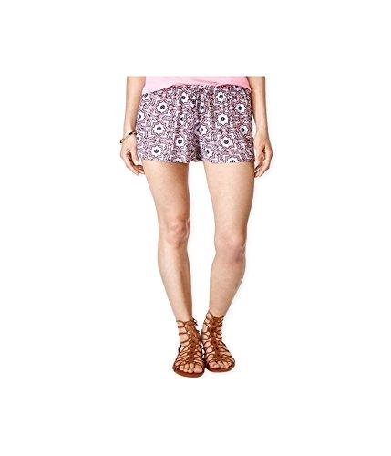 UPC 887451077788, Stoosh Womens Printed Soft Casual Mini Shorts coralperri XXS