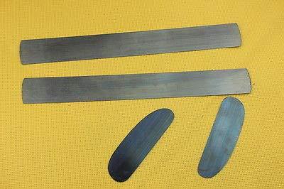 FidgetGear 4pcs different thickness scraper, Violin/Cello making tools scraping cutter