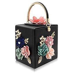 Floral Square Box HandBags