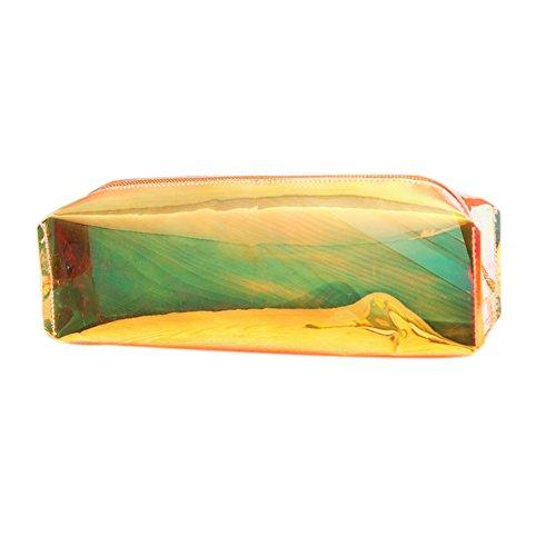 Cupcinu Federmäppchen Bunt Transparent Bleistiftetui Aus Kunststoff