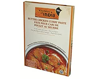 Kitchens Of India Paste For Butter Chicken Curry 3 5 Ounce Boxe